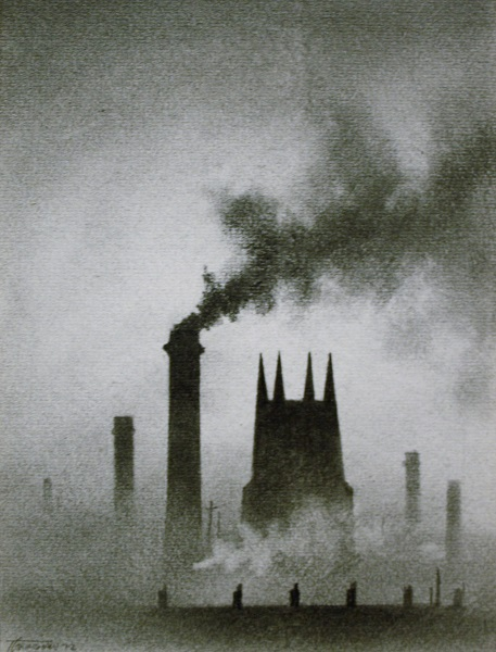 Church and Chimneys 1972