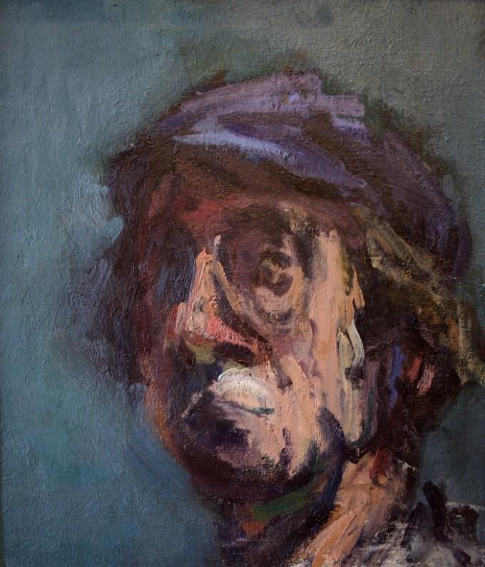 Nicholas Horsfield Self Portrait