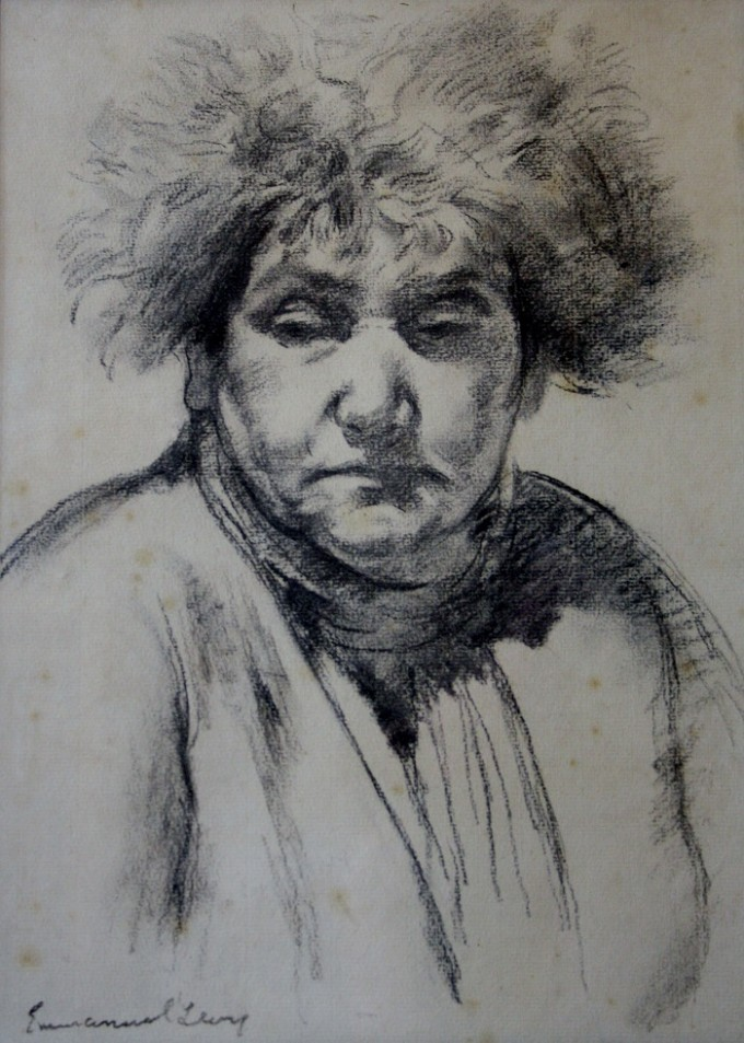 Drawing of his Mother