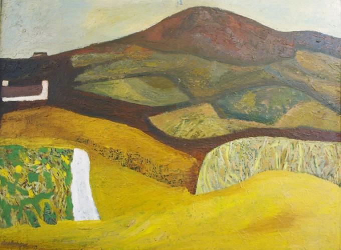 Cornfield & The Mountain