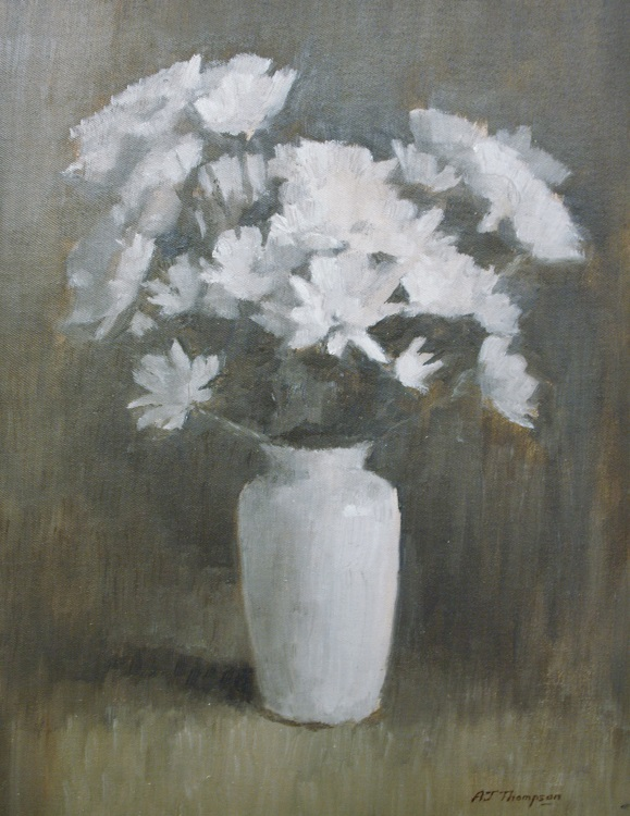 White Chrysanthemums II
