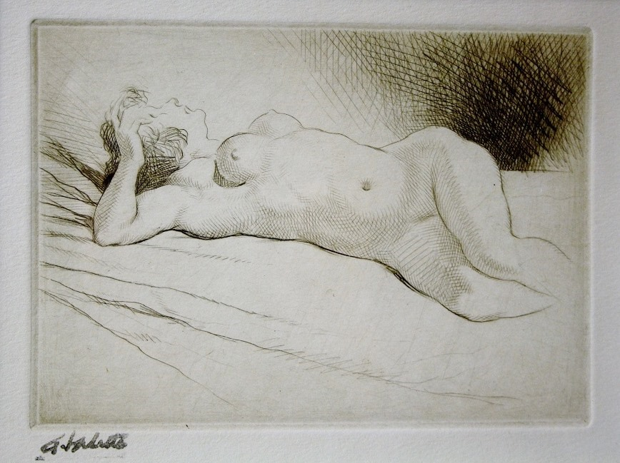 Recling-Nude