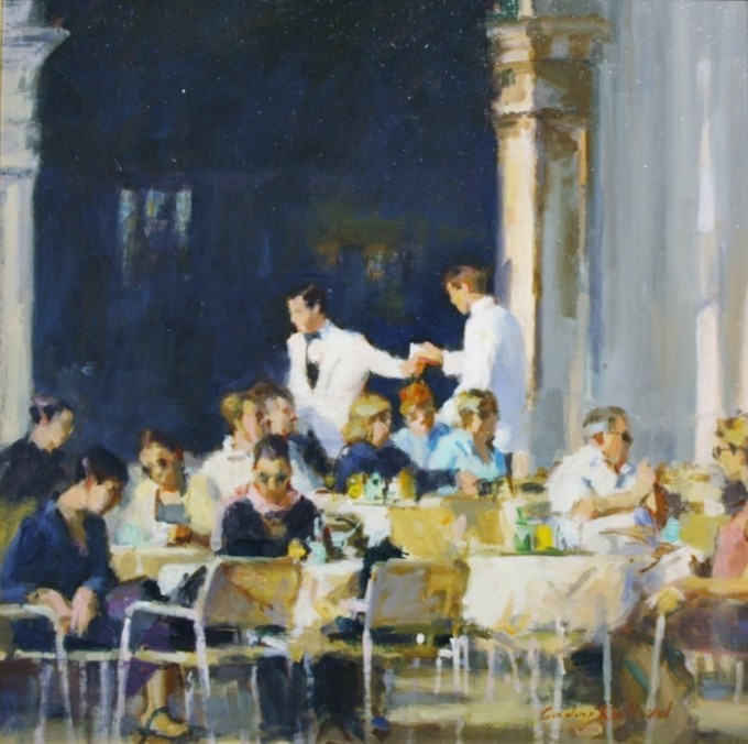 Cafe in Venice