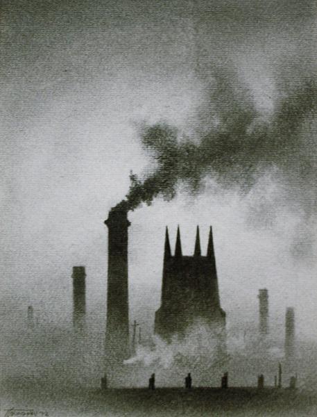 Church and Chimneys 1972