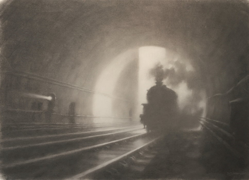 Scene in a Tunnel