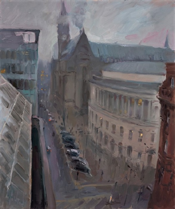 01-20-January-Mist-over-Manchester-Town-Hall-60×50-1950