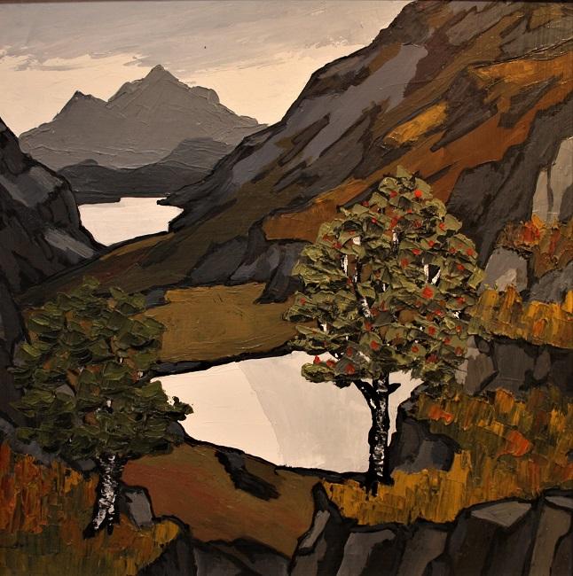 david barnes mountain lakes