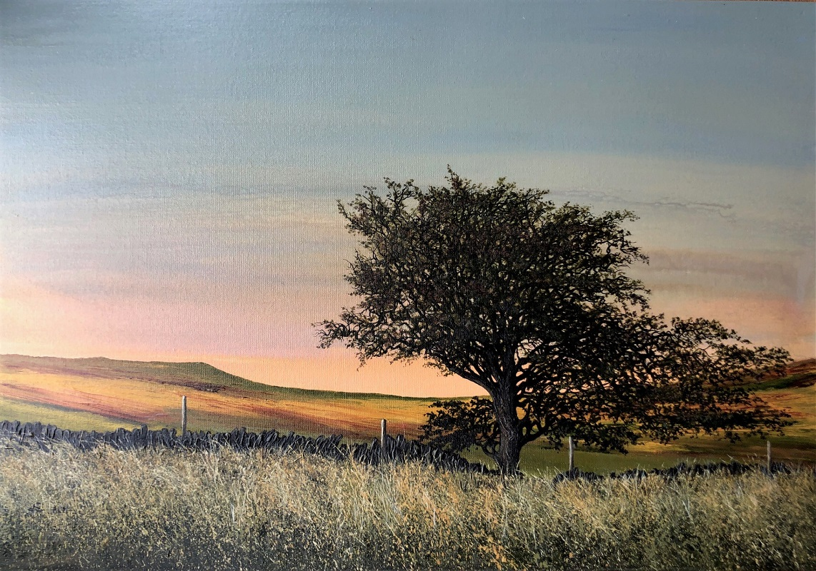 Lou Moore Colour of Air Oil18ins x 26ins £1100