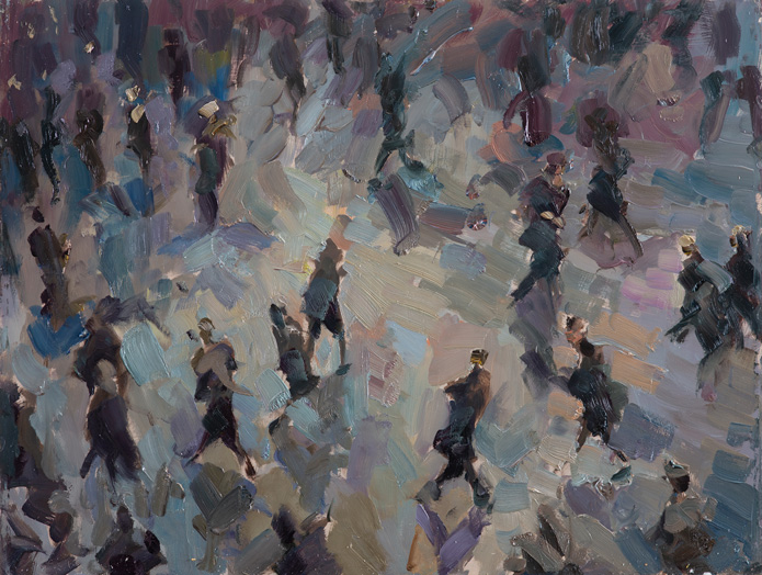 Rob Pointon Busy Busy Bees Oil 30×40 £1150