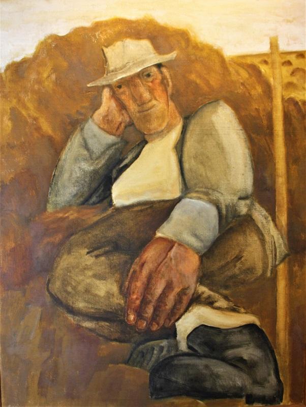 Tom Kinsey Resting Oil 48ins x36ins £1800