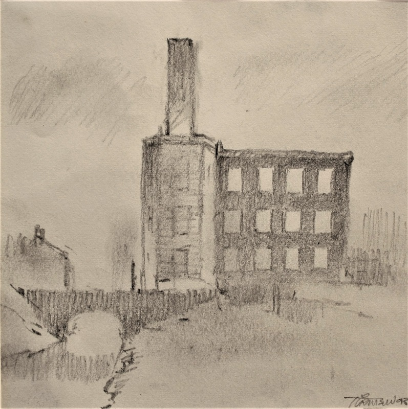 Trevor Grimshaw Cavendish Mill Pencil 5insx5ins £695